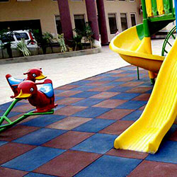Kids Play Area Rubber Flooring Tiles Manufacturer Supplier